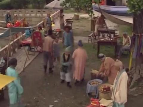 济公游记:济公喝豆浆用陌生人的碗,直呼切莫竹篮打水一场空