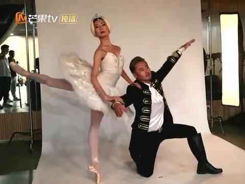 穿上芭蕾服的关之琳,身材好到惹人羡慕,难怪是那么多人梦中情人