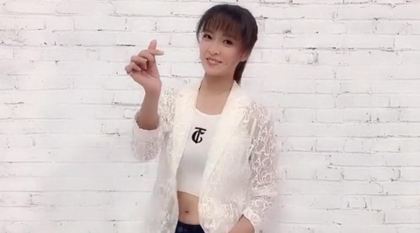 台湾女相声演员姬天语为送祝福~