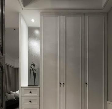 102平现代风,书房包在客厅,空间更显宽敞,独立衣帽间很实用