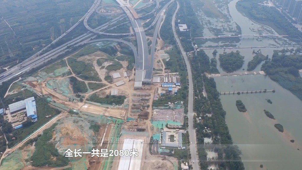 只争朝夕看西安:灞桥区洪庆新城西区骨干路网建设进展顺利