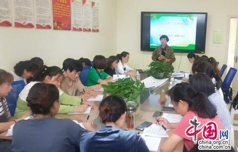 交流共享!成都蒲江南幼集团促进保育教师专业成长