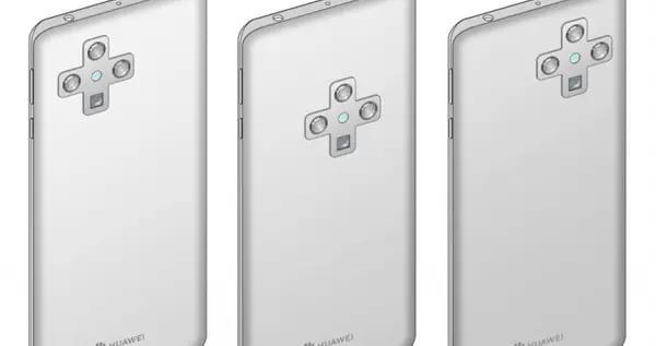 华为新手机专利图曝光:屏下摄像头加持