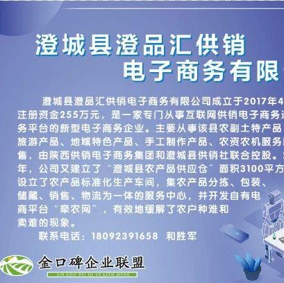 公益广告 |  澄城县澄品汇供销电子商务有限公司