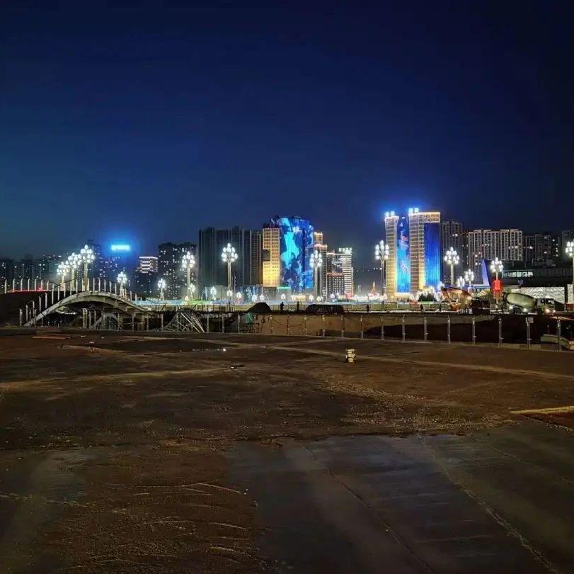 国庆节前,高铁新城将大变样!宝鸡最美广场,你确定不去看一下?