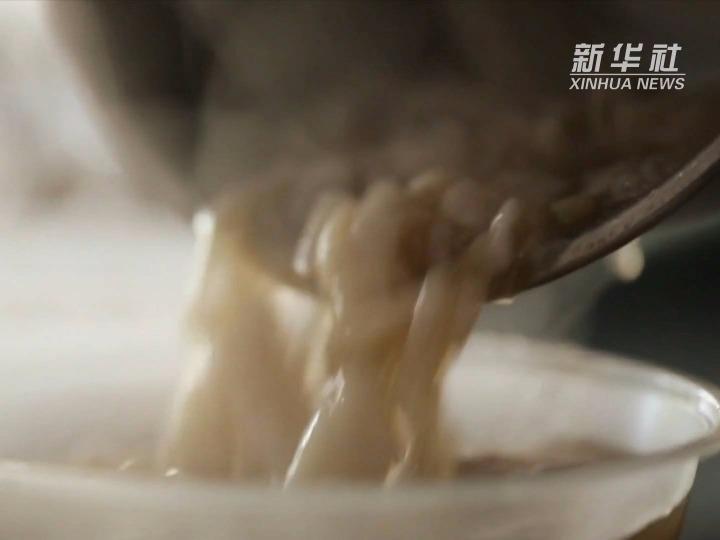 小康中国 千城早餐丨酸辣香咸!龙游这碗米糊让人垂涎!