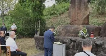 日本官员祭奠中国劳工:发誓不忘悲剧,不让战祸重演