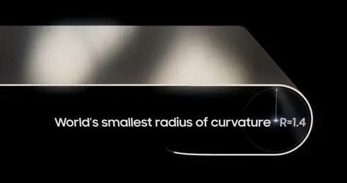三星推出1.4R可折叠OLED显示屏 低蓝光