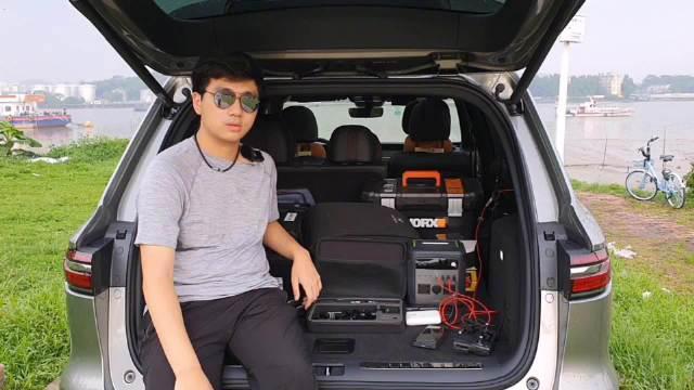 自驾旅行户外装备分享,意大利户外探索箱安全箱……