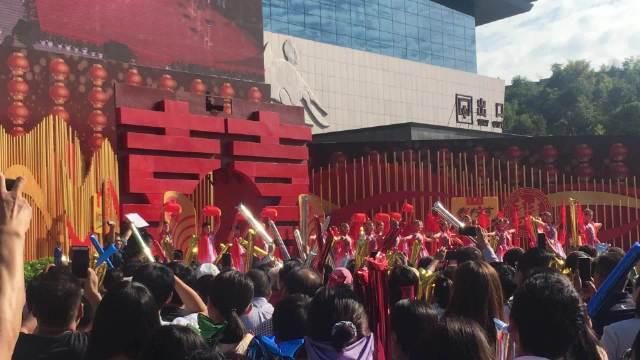 CCTV综艺西峡恐龙园现场