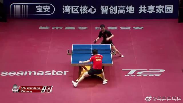 马龙vs樊振东:力与美的展现,经典对决集锦……