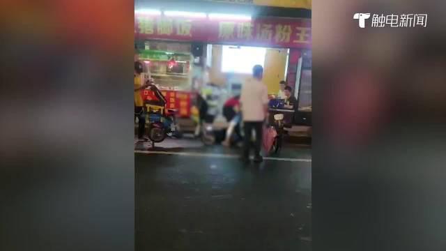外卖小哥称因取消订单遭殴打,商家回应:他骂人又挡道