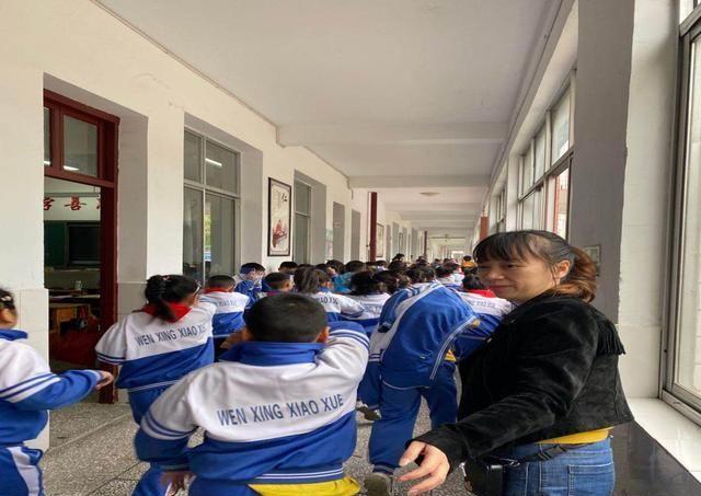 桃源县文星小学举行2020年下学期消防演练