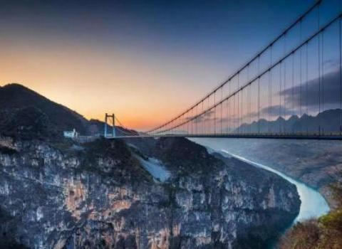 """世界大峡谷之一:中国境内的""""天沟地缝"""",古老文明夜郎国的遗址"""