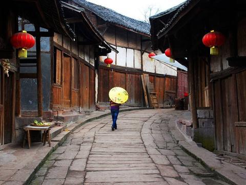 """四川泸州一条古街,有""""川黔走廊""""之称,与南京高淳老街齐名"""