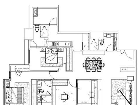 看不腻的现代简约装修,142㎡四房两厅,进门就喜欢上了!