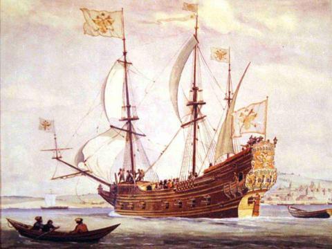 长期窥视芬兰湾,彼得通过战争夺占拉多加湖,成为俄国内湖