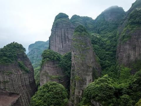 """江西也有个武当山,景色不输湖北武当山,被称为""""小武当山"""""""