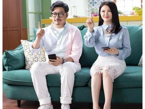 """有种""""女方养家""""叫李湘,带老公上减肥节目,大码情侣装却抢镜了"""