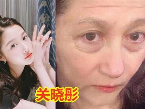 女明星老年妆特效,郑爽变化不大,热巴显慈祥,颖宝岁月不败美人