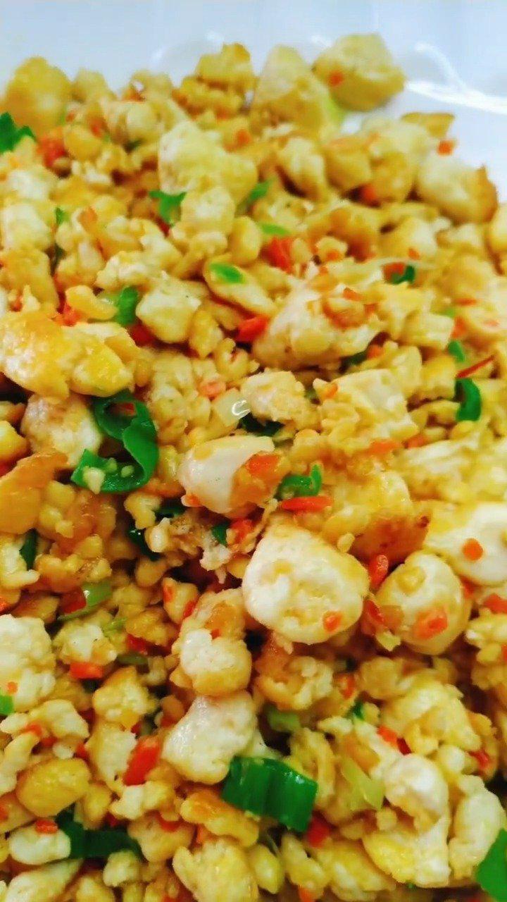 家常菜鸡刨豆腐的做法,简单易学,鲜香美味超级下饭