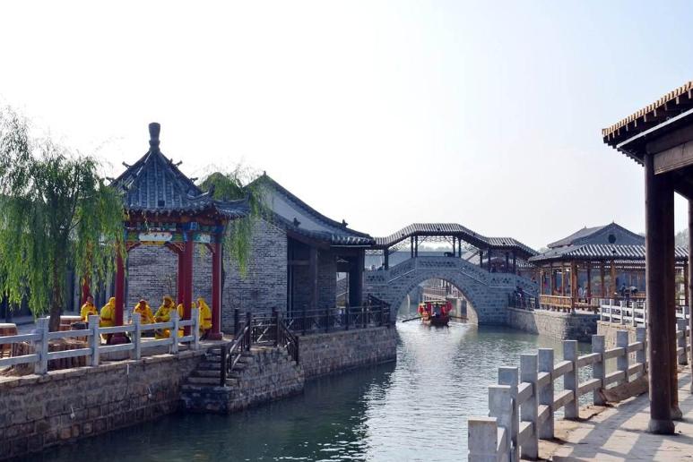 """山东耗资5亿的古村落,门票免费不输江南,堪称滨州""""小成都"""""""