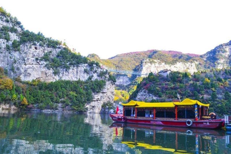 """山西一大型人工湖走红,人称晋城""""小西湖"""",距皇城相府仅9公里"""