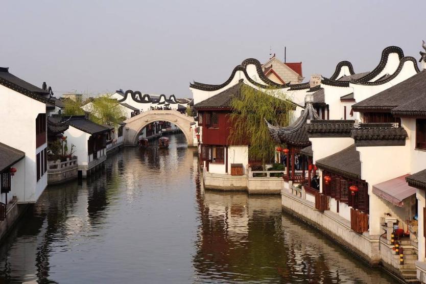 """上海又一景区火了,人称北上广""""小西塘"""",名列4A门票仅需12"""