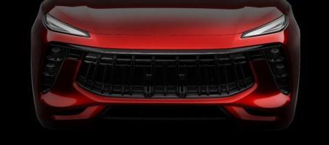 大嘴格栅红黑内饰,科技感爆棚,这款SUV设计很在线