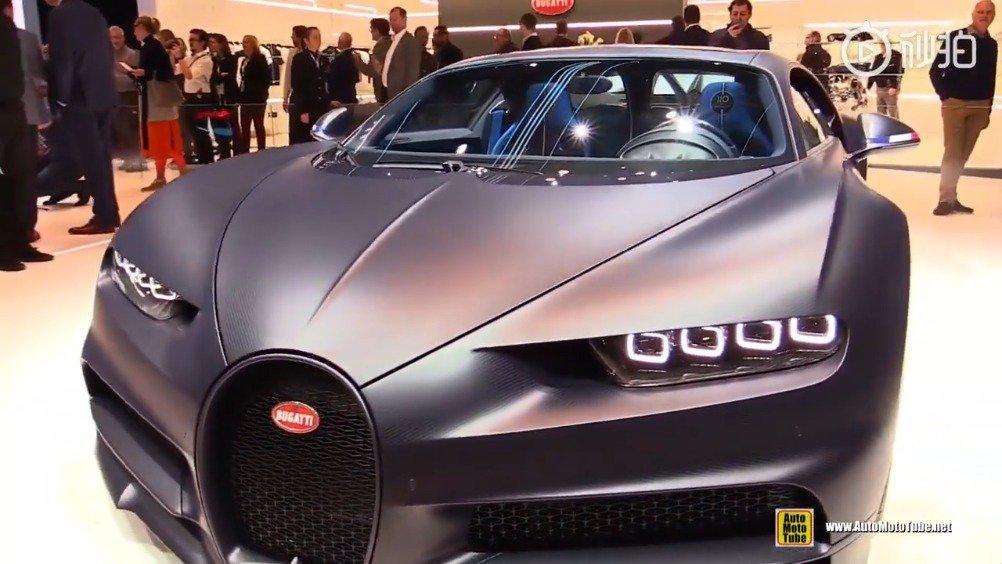 经典车2019布加迪Chiron Sport 110 Ans Bugatti