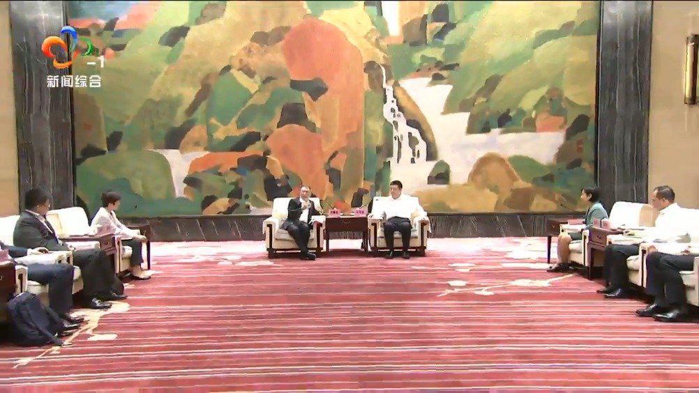 周先旺与德勤中国首席执行官曾顺福座谈