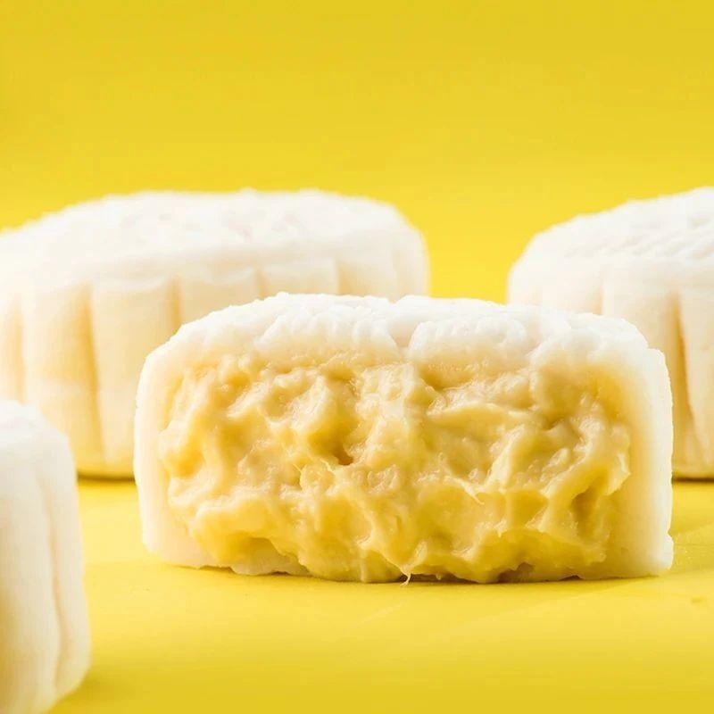 内馅多达60%的榴莲冰皮月饼,中秋不容错过!