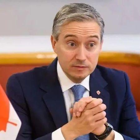 加拿大外长:加拿大放弃与中国的自由贸易谈判