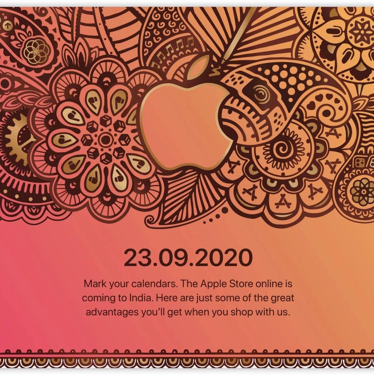 印度 Apple Store 在线商店下周「开店营业」