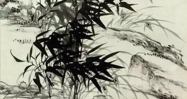 「国画欣赏」石涛笔下,兰竹之美