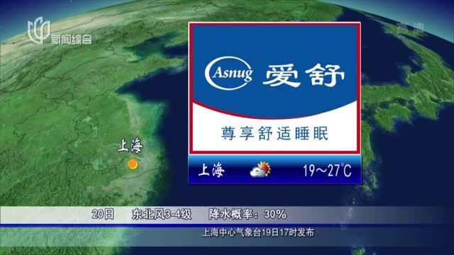 20200919《上海晚间天气预报》