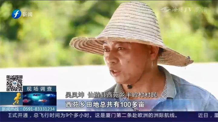 仙游:农田变成了搅拌厂?村民:水渠也被破坏了,也不给修