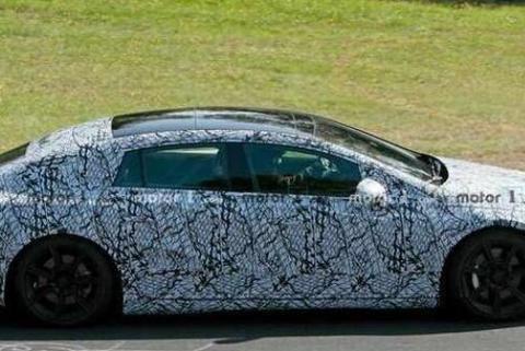 全新奔驰EQS谍照曝光 新车将于2022年上市
