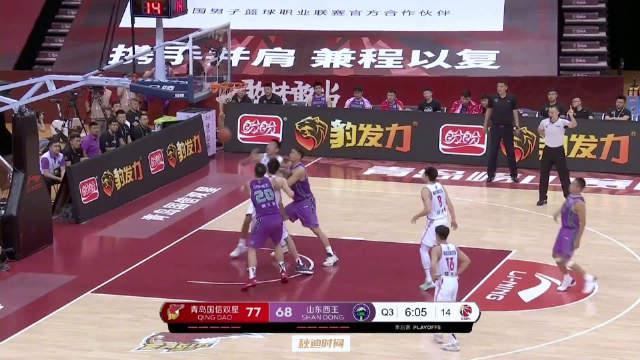 半场37分!张庆鹏生涯最后一战