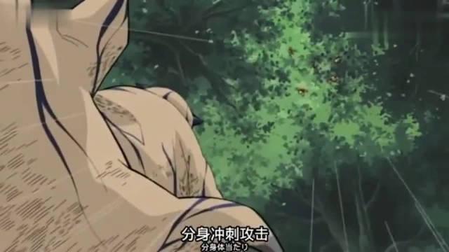 鸣人学到了卡卡西精髓忍术——千年杀……