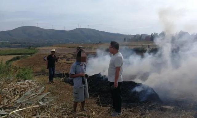 伊川:查处数起焚烧秸秆案件,他们就因为干了这事被拘留
