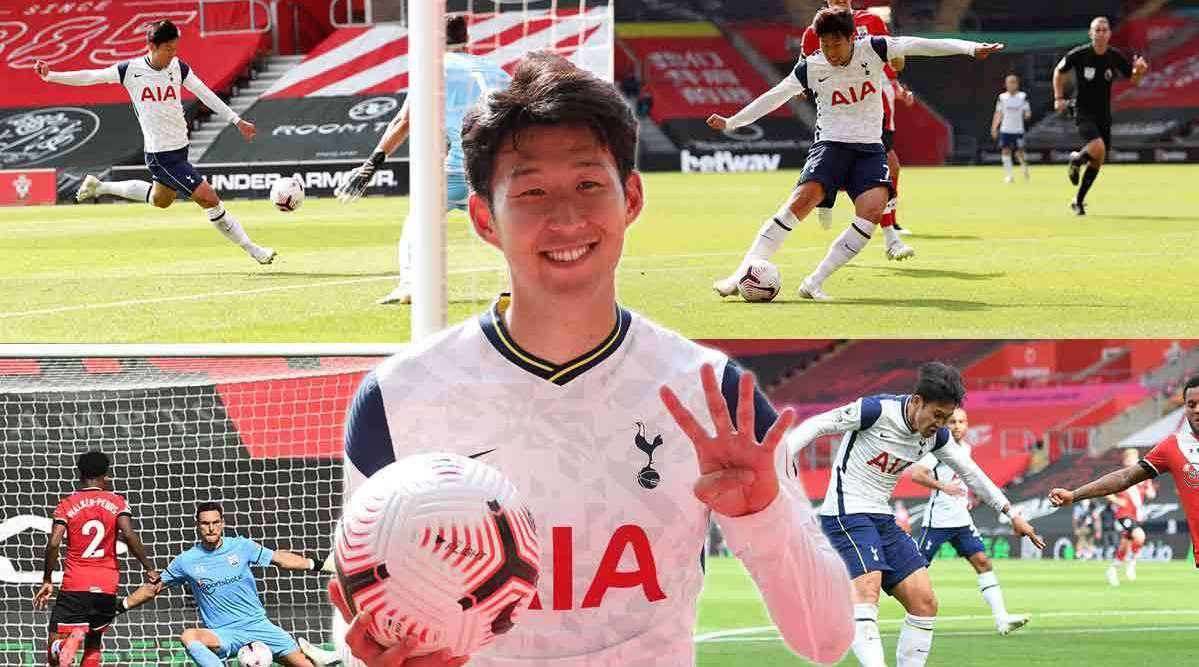 赛后采访 孙兴慜:四粒进球让我难以置信……