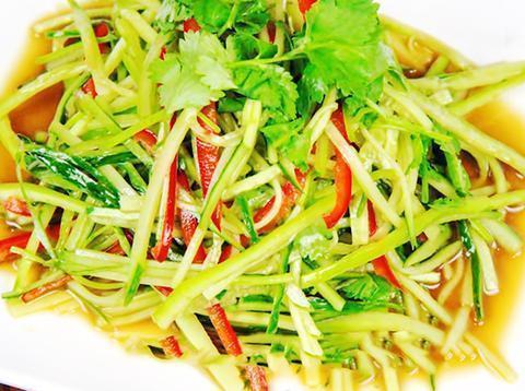 椒麻鸡,黄瓜拌香菜,炒花蛤,莴笋丝的做法送你啦,简单美味
