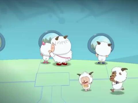 喜羊羊:小羊旅游外太空,灰太狼偷偷跟随,不料螳螂捕蝉黄雀在后