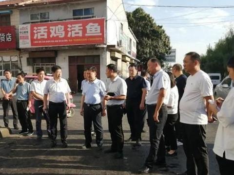 鄢陵这些地方,县委副书记现场办公!