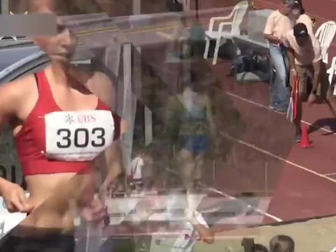 2020年瑞士田径运动会U23女子跳远比赛拍摄花絮