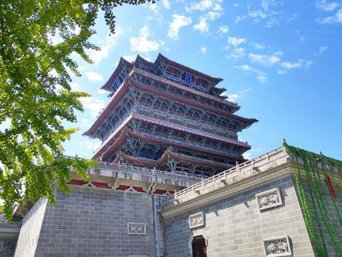 中国梦·黄河情丨极目远眺!感受《登鹳雀楼》中描绘的壮阔景象