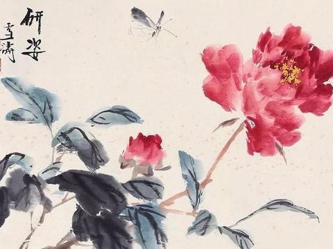 「津门网」齐白石徒弟的国画作品,却受王梦白的影响更大