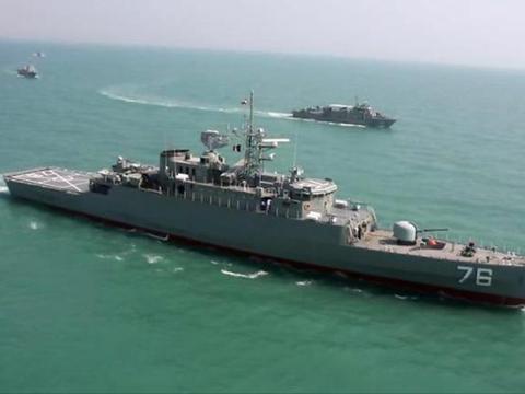 美军航母逼上门!伊朗态度突然大变,严令不许广泛报复美国