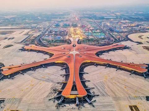 我国最大的飞机场,总投资约800亿,被誉为新世界第七大奇迹